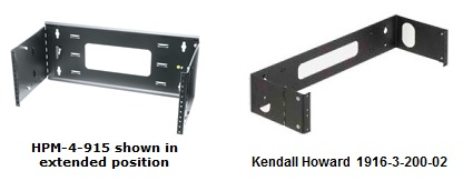 "19"" patch panel brackets"