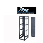 Picture of Middle Atlantic WRK-40-27 - 40U x 27.5 inch Deep Gangable Enclosure