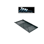 Picture of 4-Point Adjustable Sliding Rack Shelf, 27 to 44 inch Depth, for Heavy Rackmount Equipment