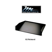 Picture of 4U Solid Rack Mount Shelf  Flush Mounts to Front Pair of Rack Rails