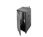 "Picture of PTRK-21 - 21U x 23"" Deep Portable Rack Enclosure w/ Locking Doors and Casters"