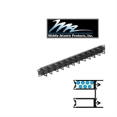 Picture of Middle Atlantic HCM-1 1U Micro-Clip Style Horizontal Cable Manager