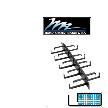 Picture of Middle Atlantic HCM-1DR 1U D-Ring Style Horizontal Cable Manager