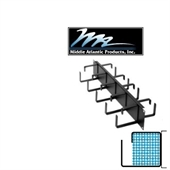 Picture of Middle Atlantic HCM-2DR 2U D-Ring Style Horizontal Cable Manager