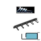 Picture of Middle Atlantic HCM-1D23 1U D-Ring Style Horizontal Cable Manager