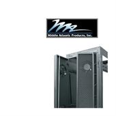 Picture of Middle Atlantic MW-CFRD-42 42U High CFM Split Rear Door