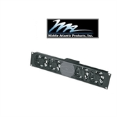 Picture of Middle Atlantic UQFP-4RA-INT Designer Inspired Ultra Quiet Fan Panel